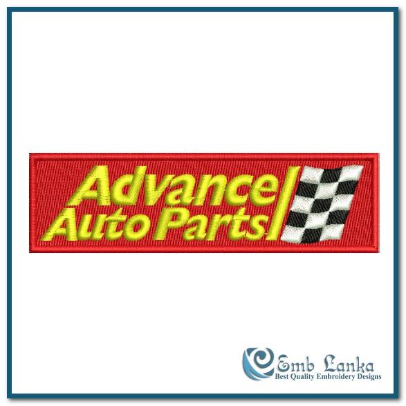 Advance Auto Parts Logo 2 Embroidery Design Emblanka Com