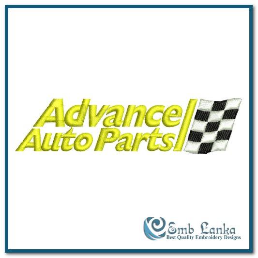Advance Auto Parts Logo Embroidery Design Emblanka Com