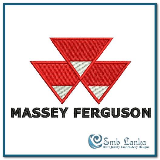 massey ferguson logo embroidery design emblanka