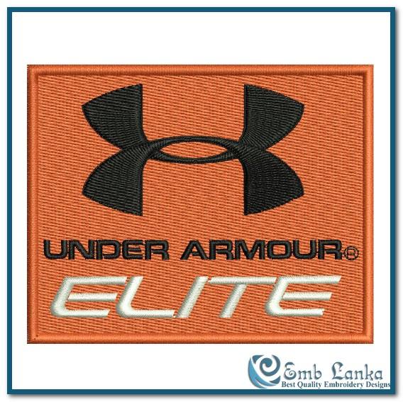 aa7d354f3 Under Armour Elite Logo 2 Embroidery Design | Emblanka.com