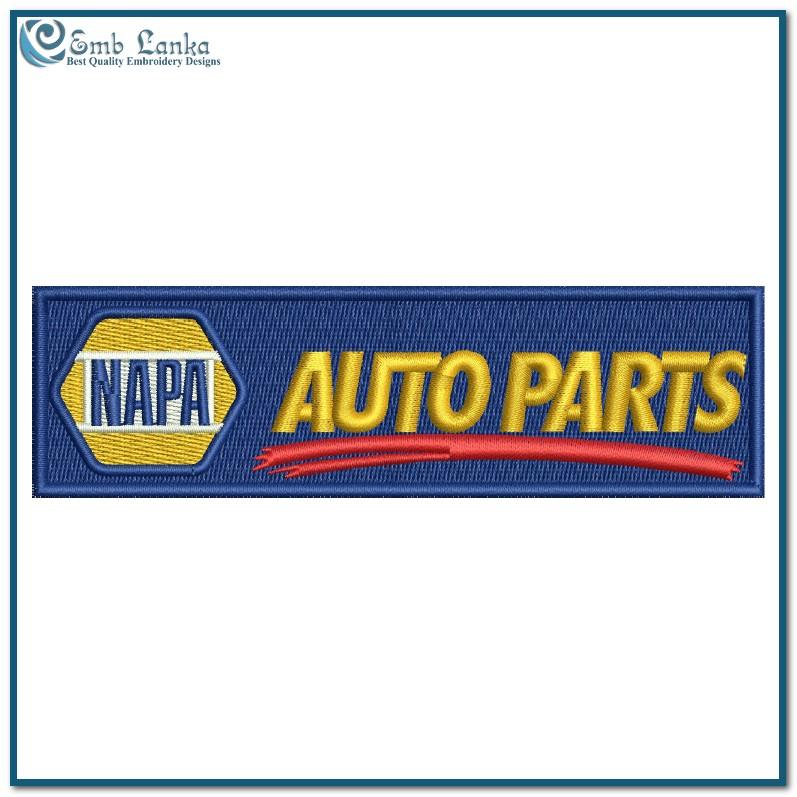 Napa Auto Parts Logo 2 Embroidery Design Emblanka Com