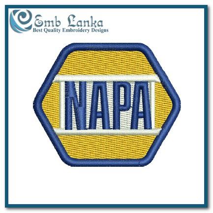 Napa Auto Parts Logo 3 Embroidery Design Emblanka Com