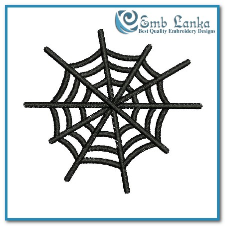 Free Spider Web Embroidery Design Emblanka Com