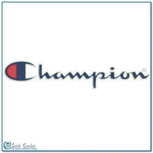 Champion Logo 4 Embroidery Design Logos