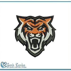 Idaho State Bengals Logo Embroidery Design Logos