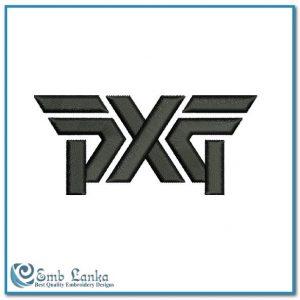 PXG Golf Logo Embroidery Design Logos Golf