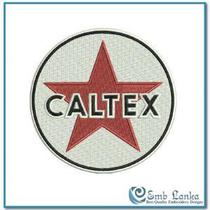 Caltex Old Logo Embroidery Design Logos Caltex