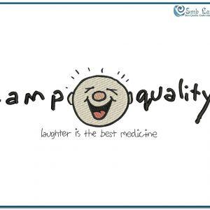 Free Camp Quality Logo 2 Embroidery Design Free designs