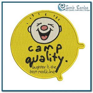 Camp Quality Logo 4  Embroidery Design Free designs