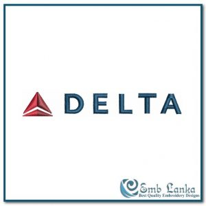 Delta Air Lines Logo Embroidery Design Airlines Air Lines