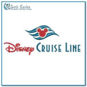 Disney Cruise Line Logo Embroidery Design Logos Disney