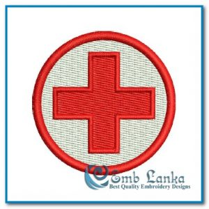 Free Red Cross Symbol Embroidery Design Free designs