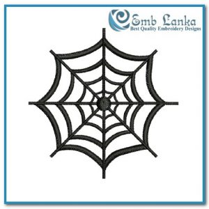Free Spider Web 2 Embroidery Design Bugs