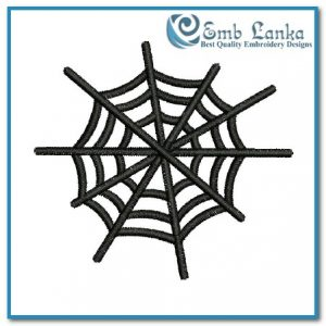 Free Spider Web Embroidery Design Bugs