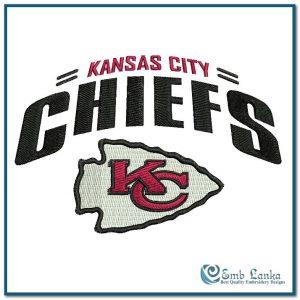 Kansas City Chiefs Logo 2 Embroidery Design Logos