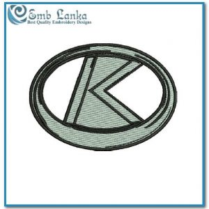 Kubota K Logo Embroidery Design Logos Kubota