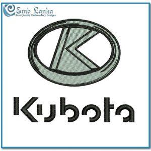 Kubota Logo 3 Embroidery Design Logos Kubota