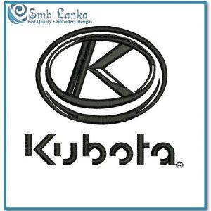 Kubota Logo 4 Embroidery Design Logos Kubota