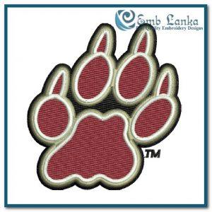 Lafayette Leopards Logo 4 Embroidery Design Logos