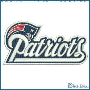 New England Patriots Logo 3 Embroidery Design Logos