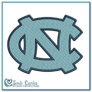 North Carolina Tar Heels Logo Embroidery Design Logos