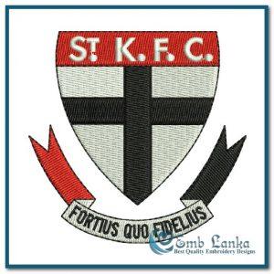 St Kilda Football Club Logo 300x300, Emblanka