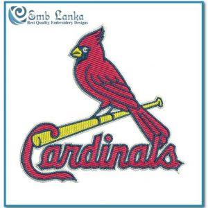 St Louis Cardinals Logo Embroidery Design Logos Cardinals
