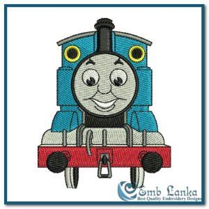 Thomas and Friends Logo 1 Embroidery Design Cartoon