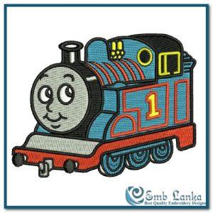 Thomas and Friends Logo 3 Embroidery Design Cartoon