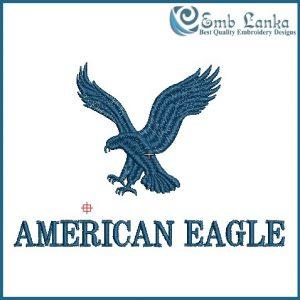 American Eagle Logo Embroidery Design Birds
