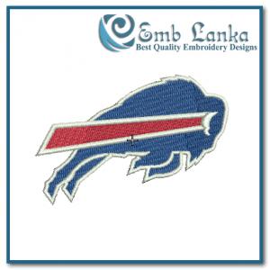 Buffalo Bills Logo Embroidery Design Logos
