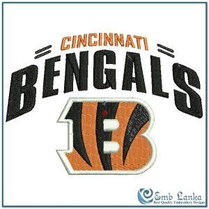 Cincinnati Bengals Logo 2 Embroidery Design Logos