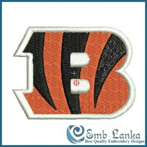 Cincinnati Bengals Logo Embroidery Design Logos