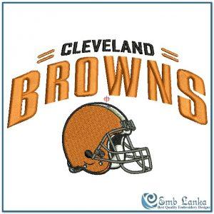 Cleveland Browns Logo 2 Embroidery Design Logos