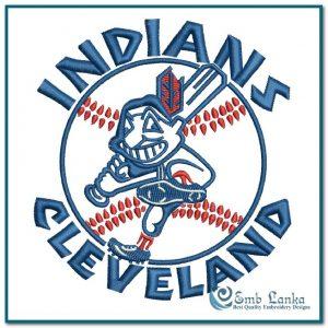 Cleveland Indians Logo Embroidery Design Logos