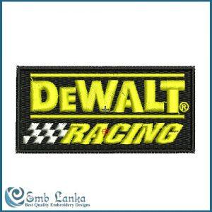 Dewalt Racing Logo Embroidery Design 1340713897 300x300, Emblanka