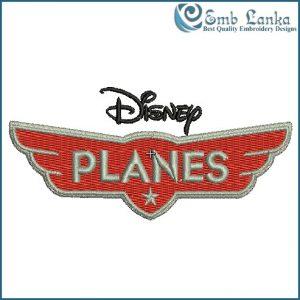 Disney Planes Logo Embroidery Design Cartoon