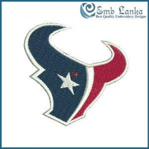 Houston Texans Logo Embroidery Design Logos
