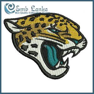 Jacksonville Jaguars New Logo Embroidery Design Logos