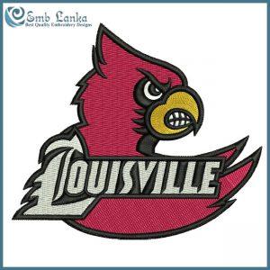 Louisville Cardinals Logo 5 Embroidery Design Logos
