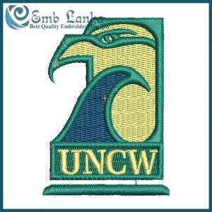 NC-Wilmington Seahawks Logo Embroidery Design Logos