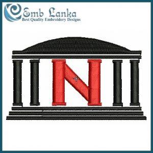 Nebraska Cornhuskers Logo 3 Embroidery Design Logos