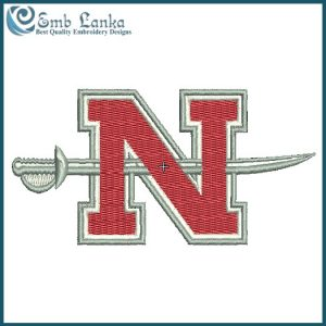 Nicholls State Colonels Logo Embroidery Design Logos
