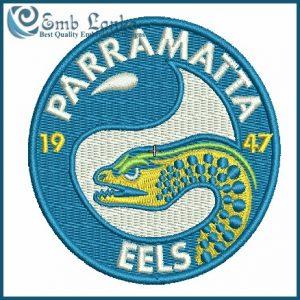 Parramatta Eels Logo Embroidery Design Logos