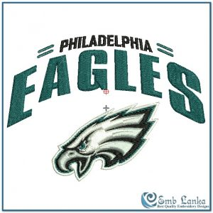 Philadelphia Eagles Logo 2 Embroidery Design Logos