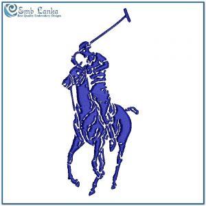 Polo Ralph Lauren Horse Embroidery Design Animals