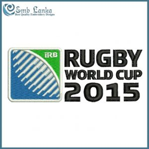 Rugby World Cup 2015 Logo Embroidery Design Logos