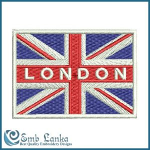 British Union Jack Flag Embroidery Design Flags