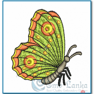 Digital Collage Butterfly Embroidery Design Butterflies