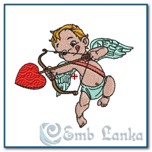 Little Cupid Embroidery Design Angels